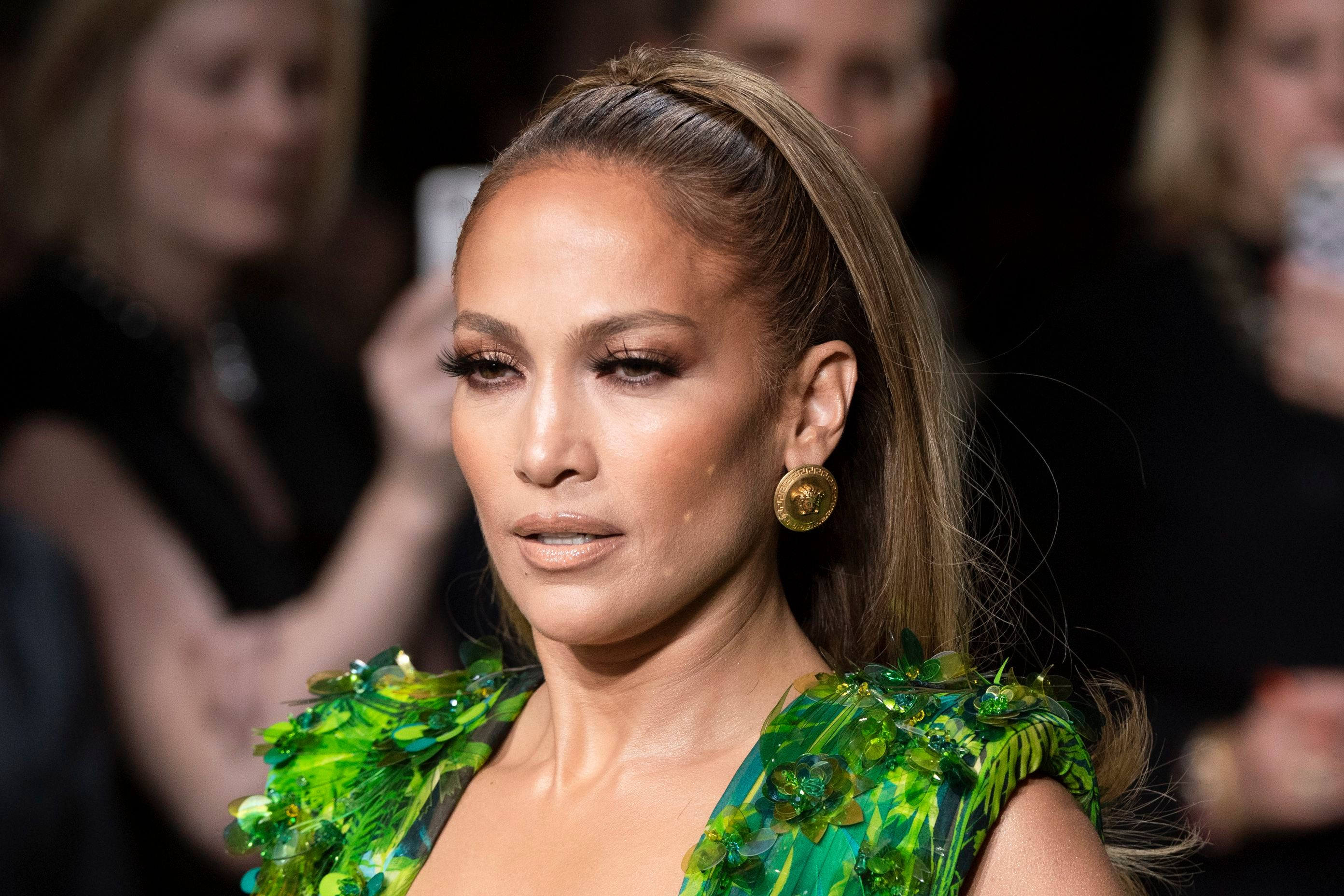 Jennifer Lopez on the catwalkVersace show, Runway, Spring Summer 2020, Milan Fashion Week, Italy - 20 Sep 2019