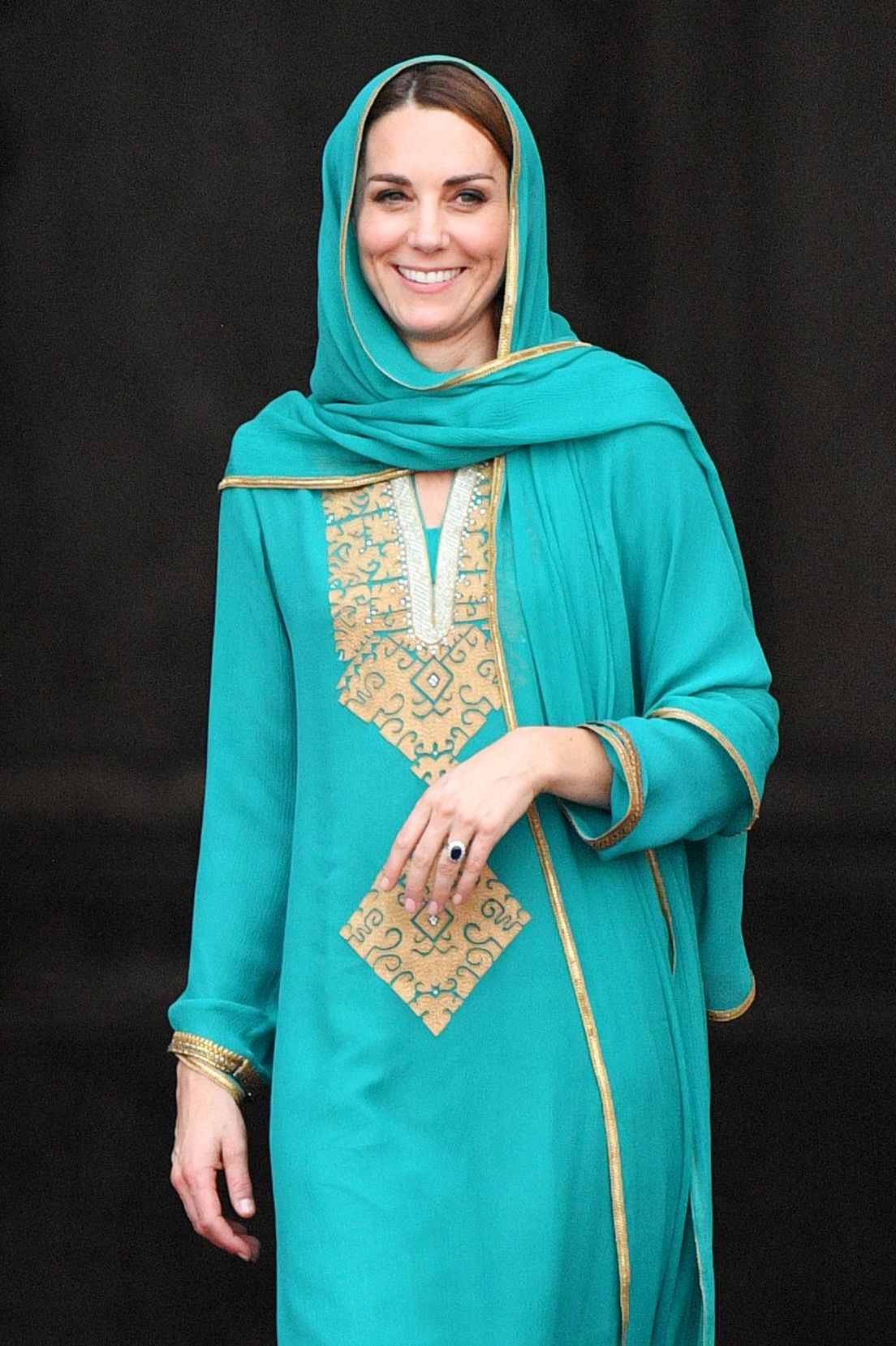 Kate Middleton Pakistan Royal Tour - Channeling Princess Diana
