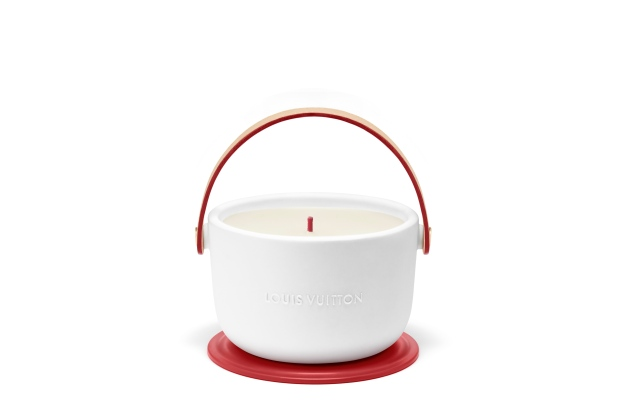 The Louis Vuitton | (RED) candle