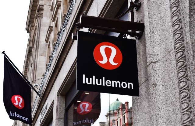 Lululemon store front