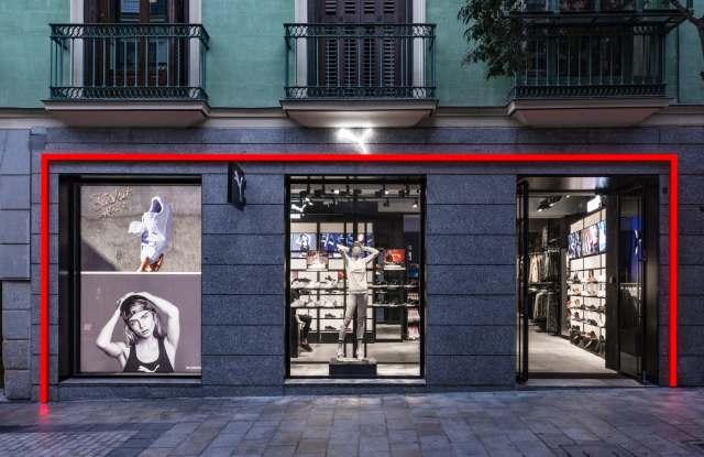 Puma store in Madrid