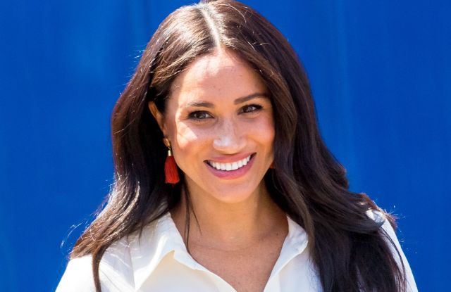 Meghan Duchess of Sussex at a township to learn about Youth Employment Services, JohannesburgPrince Harry and Meghan Duchess of Sussex visit to Africa - 02 Oct 2019