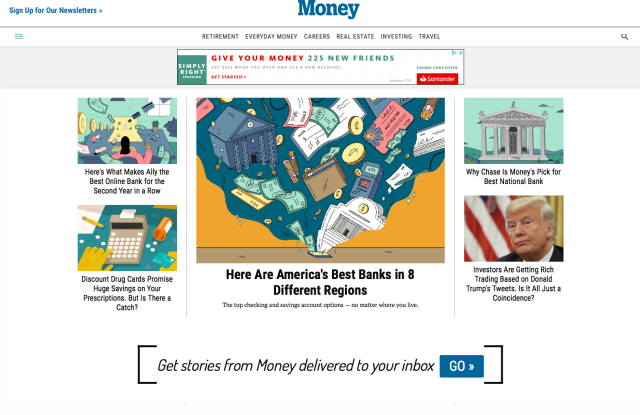 The Money.com web site.