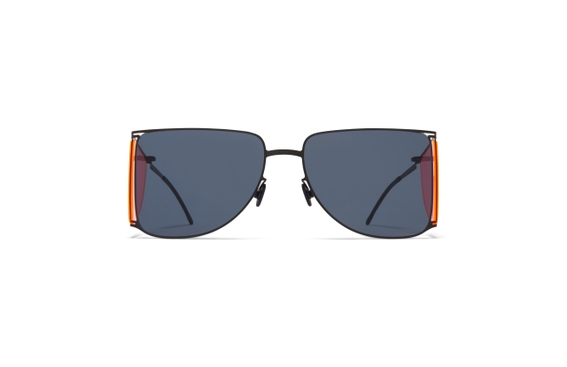Curvilinear aviators from the Helmut Lang collection by Mykita.
