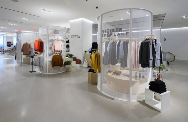 The Pop-In @ Nordstrom shop with Everlane.