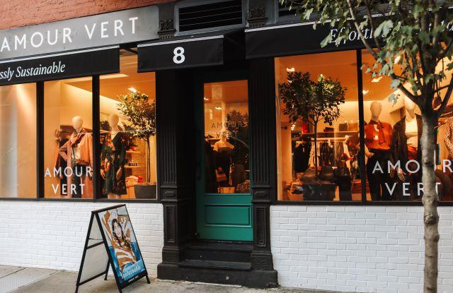 sustainable shopping, nyc