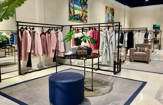 Inside the new Kiton store in Palm Beach
