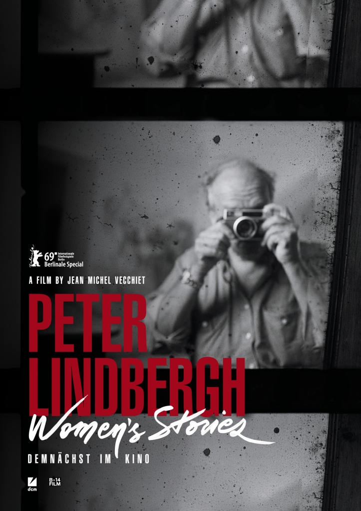 "The ""Peter Lindbergh: Women's Stories"" poster."