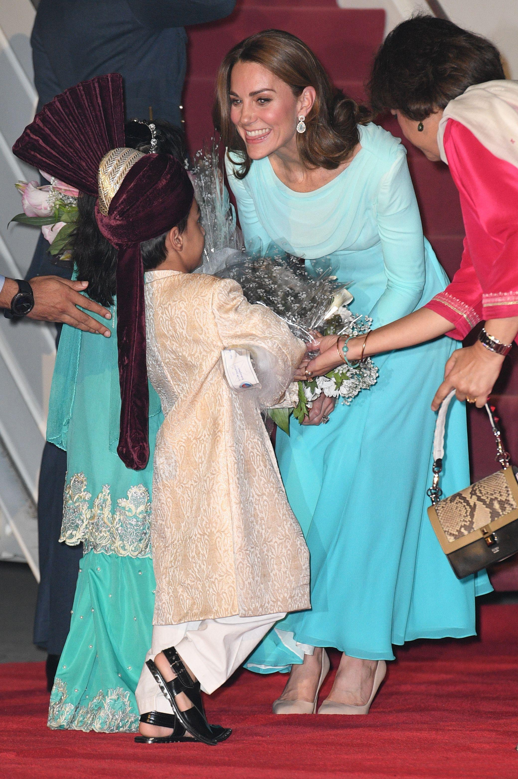 Catherine Duchess of CambridgeThe Duke and Duchess of Cambridge visit Pakistan - 14 Oct 2019
