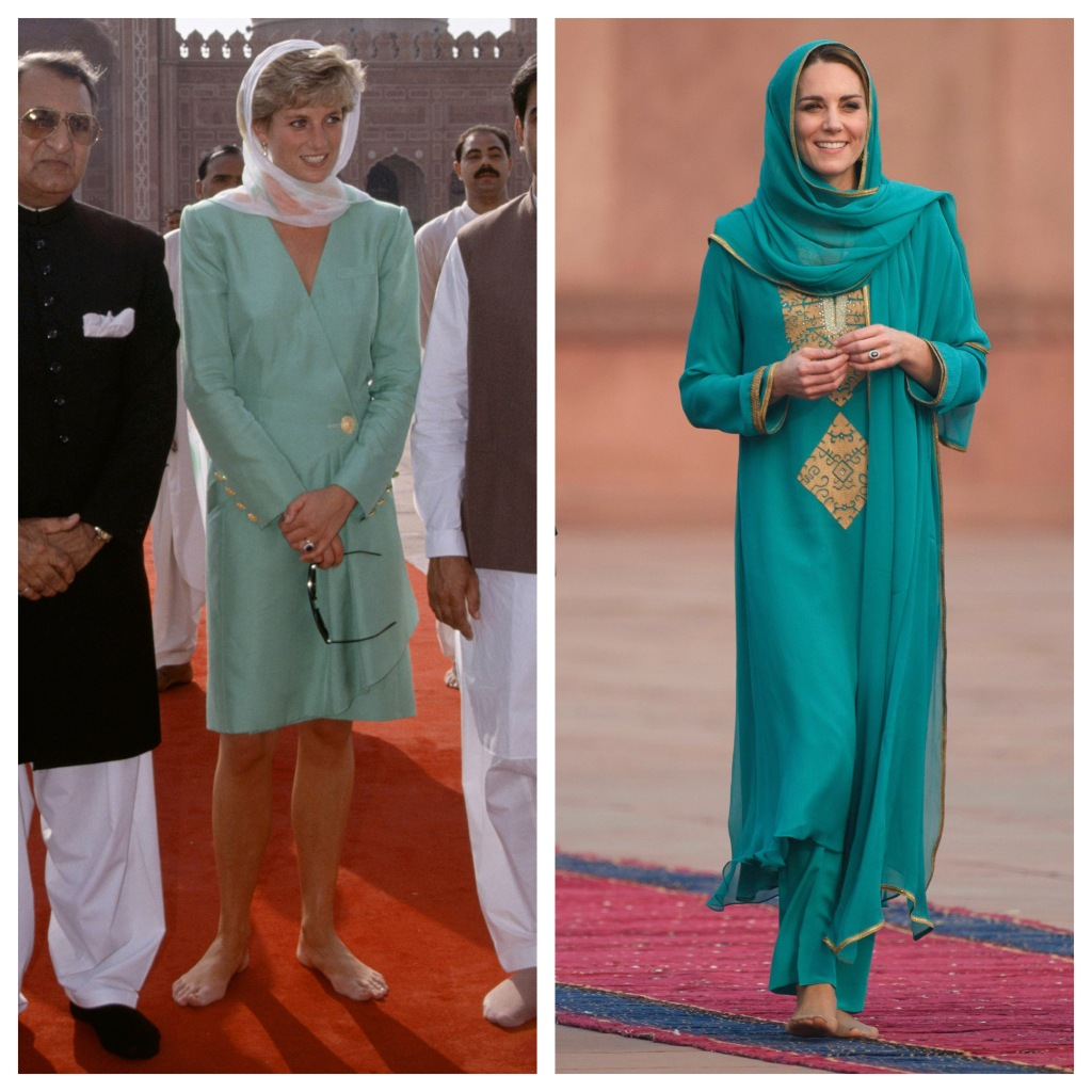 Kate Middleton Channel Princess Diana During Pakistan Royal Tour