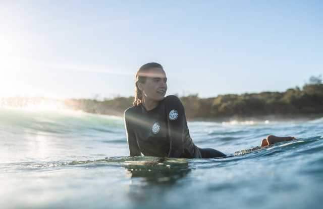 A women's wetsuit from Rip Curl.