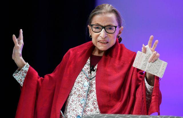 Ruth Bader Ginsburg Wins $1 Million Berggruen Prize