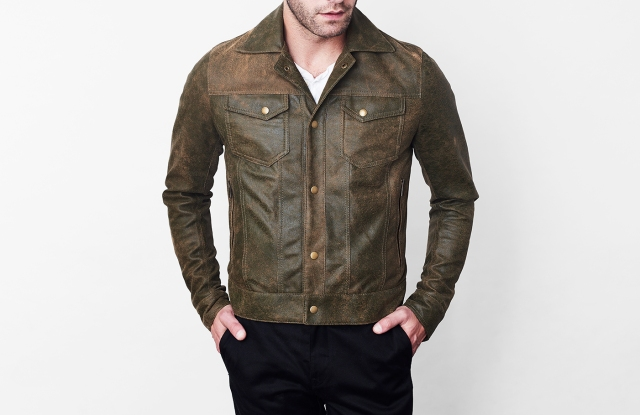 Savas's Denham jacket is the most popular style.