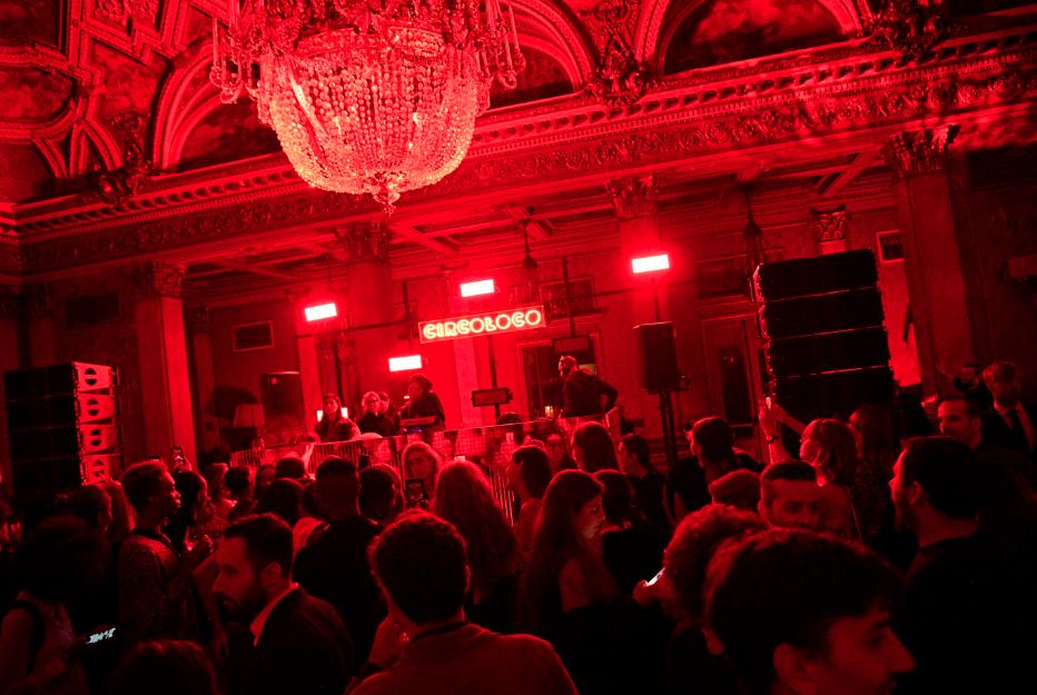 The scene at the Giambattista Valli x H&M party in Rome.