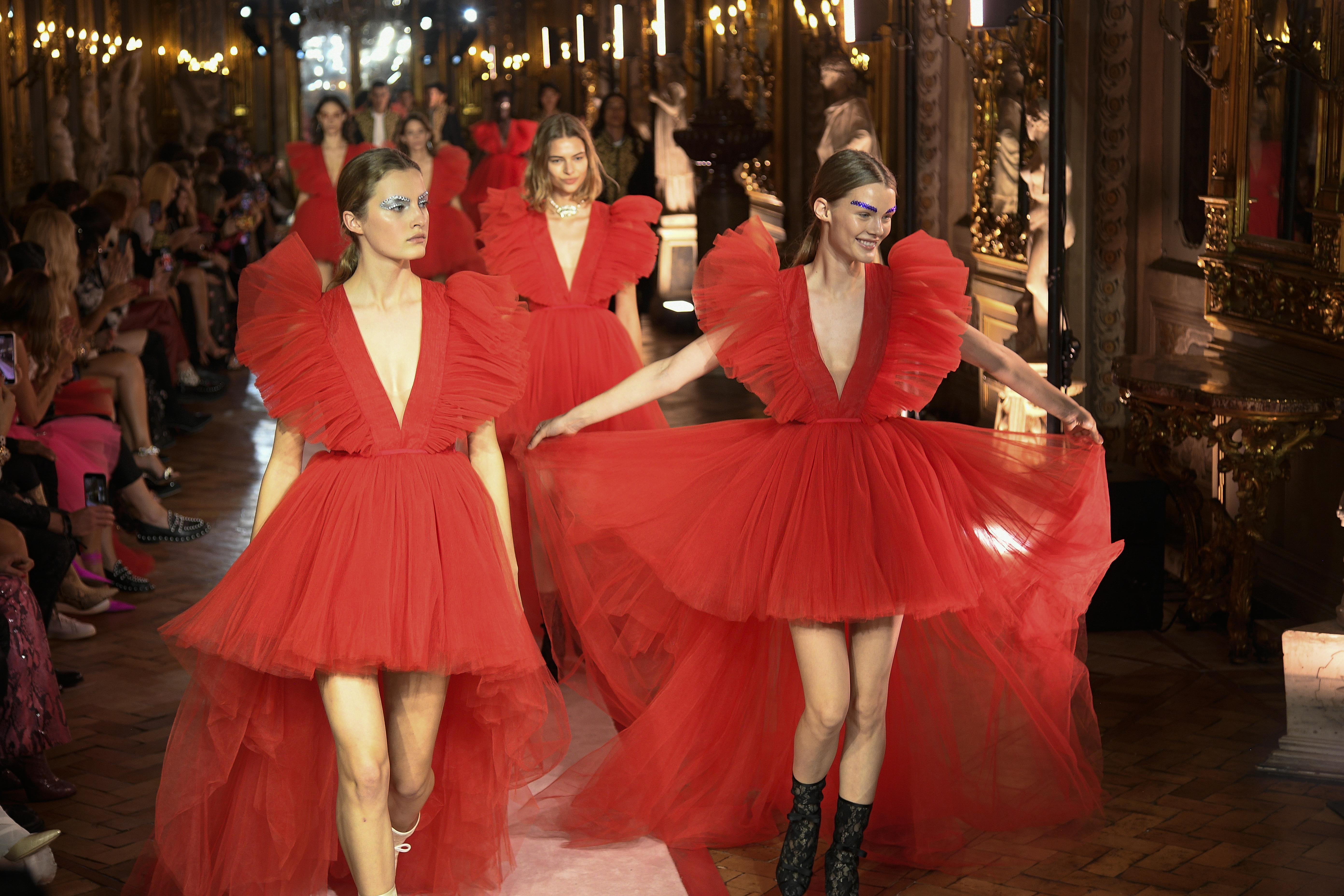 All the looks from Giambattista Valli x H&M show in Rome