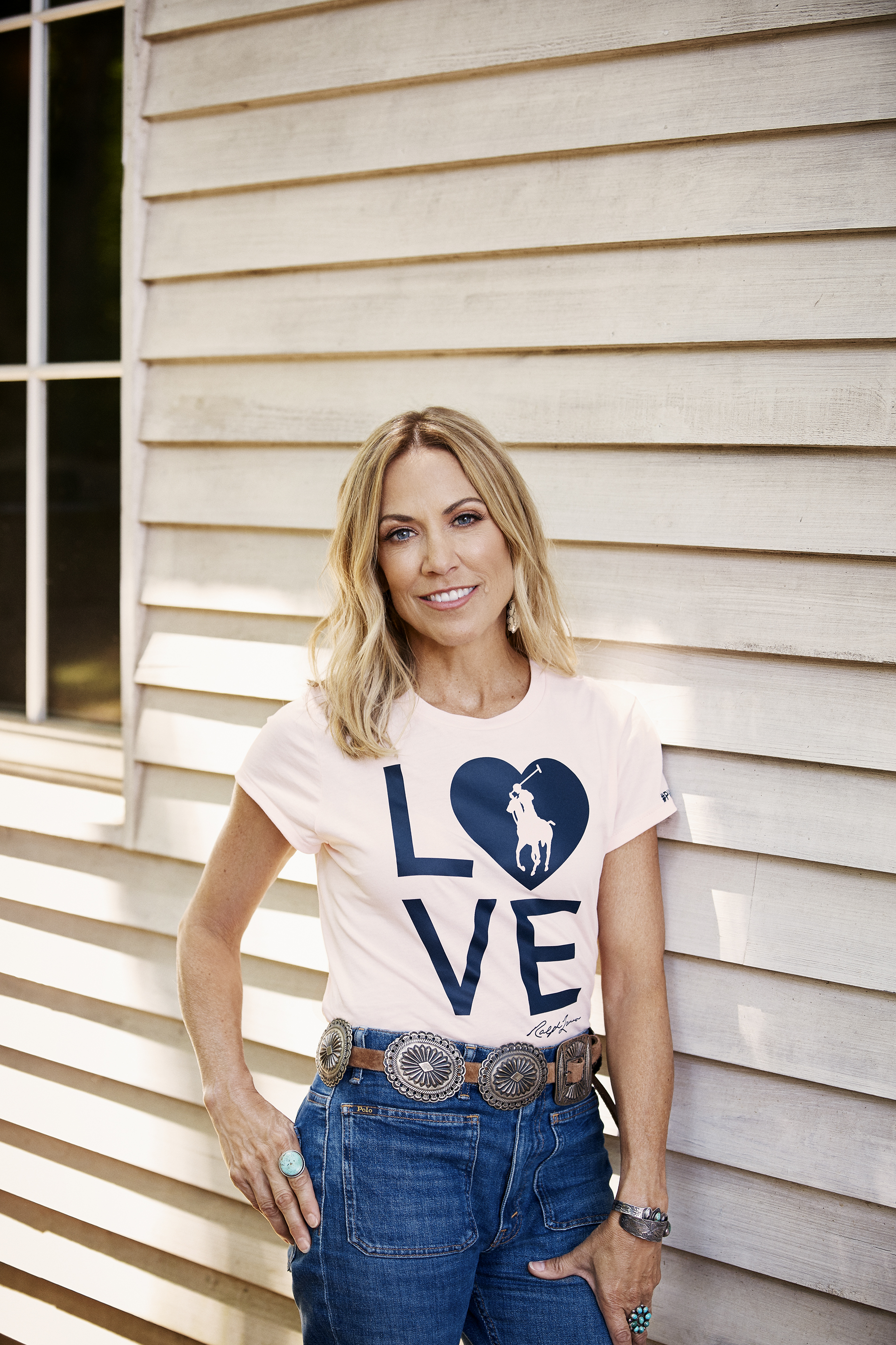 Sheryl Crow for Ralph Lauren's Pink Pony Campaign