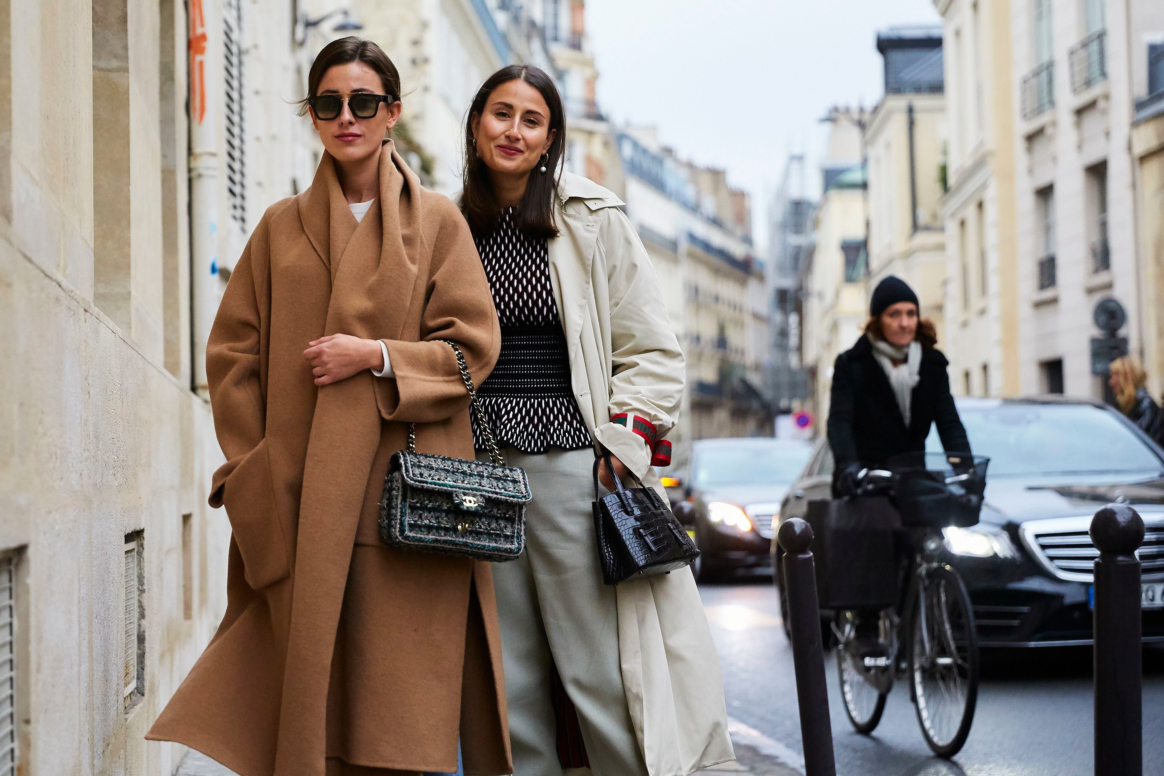 Sylvia Haghjoo, Julia HaghjooStreet Style, Spring Summer 2019, Haute Couture Fashion Week, Paris, France - 23 Jan 2019