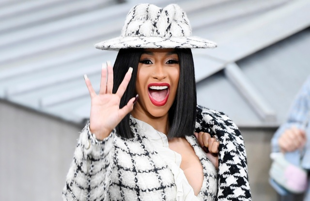 Cardi B in the front rowChanel show, Front Row, Spring Summer 2020, Paris Fashion Week, France - 01 Oct 2019