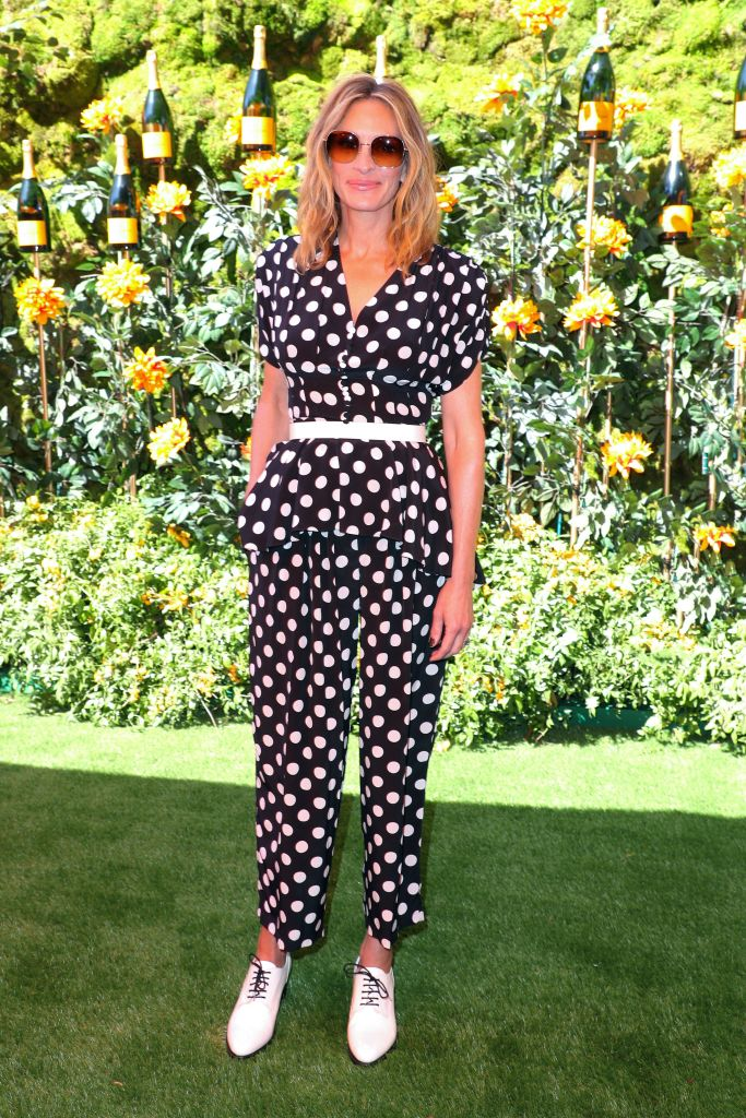 Julia RobertsVeuve Clicquot Polo Classic, Arrivals, Will Rogers State Park, Los Angeles, USA - 05 Oct 2019Wearing Michael Kors