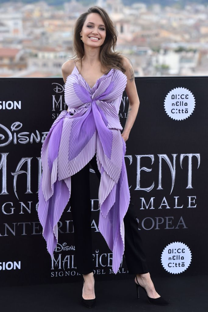 Angelina Jolie'Maleficent - Mistress Of Evil' film photocall, Rome, Italy - 07 Oct 2019