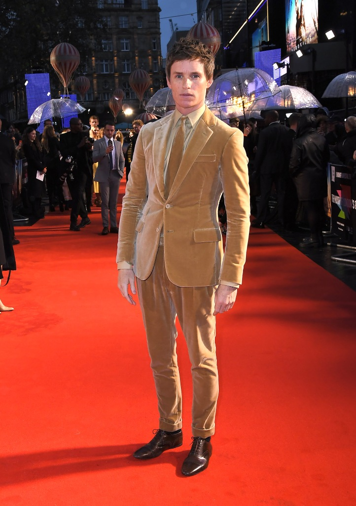 Eddie Redmayne'The Aeronauts' premiere, BFI London Film Festival, UK - 07 Oct 2019