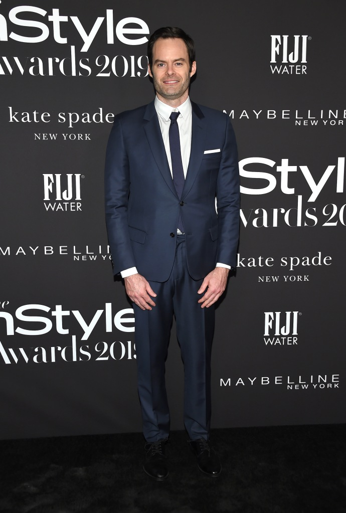 Bill Hader5th Annual InStyle Awards, Arrivals, The Getty Museum, Los Angeles, USA - 21 Oct 2019Wearing Dior