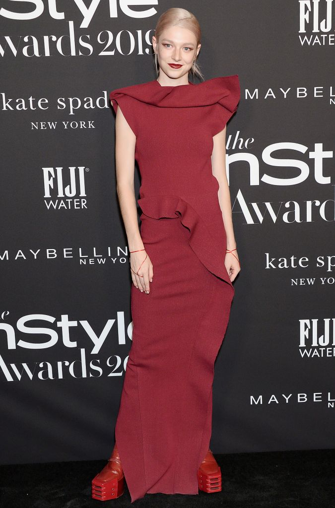 Hunter Schafer5th Annual InStyle Awards, Arrivals, The Getty Museum, Los Angeles, USA - 21 Oct 2019Wearing Rick Owens same outfit as catwalk model *10120564am