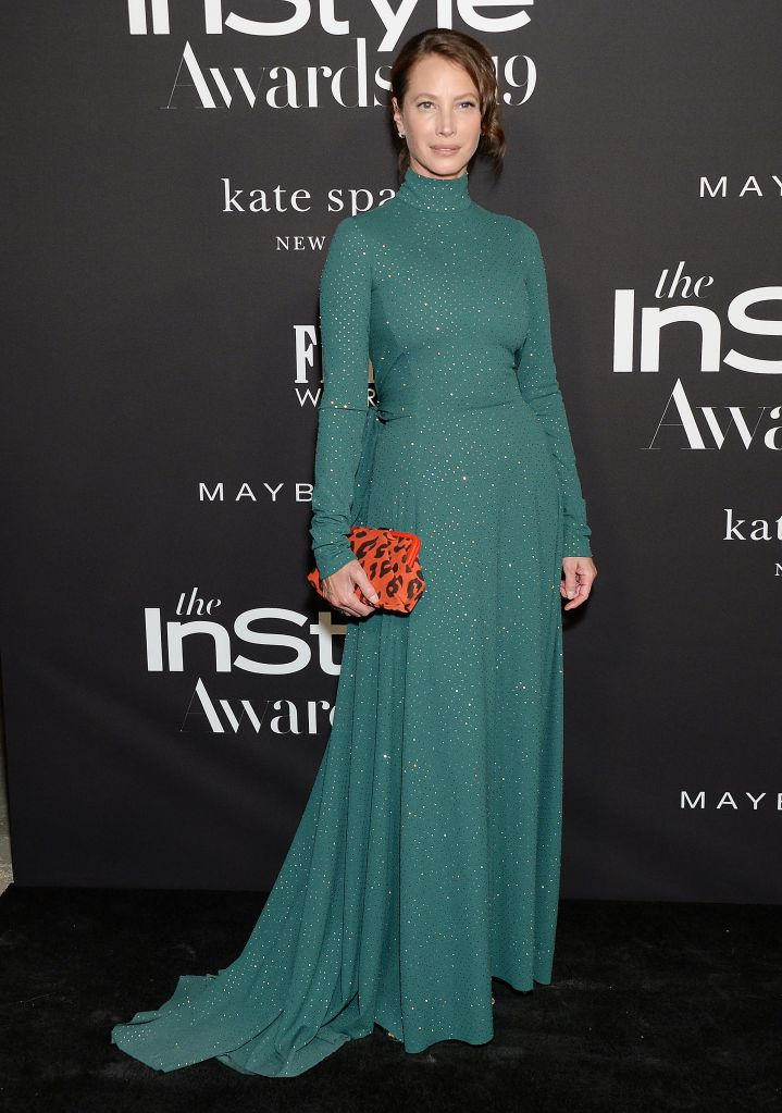 Christy Turlington5th Annual InStyle Awards, Arrivals, The Getty Museum, Los Angeles, USA - 21 Oct 2019Wearing Marc Jacobs same outfit as catwalk model *10104053r and Olivia Wilde