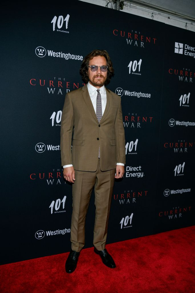 Michael Shannon'The Current War' film premiere, Arrivals, AMC Lincoln Square 13, New York, USA - 21 Oct 2019