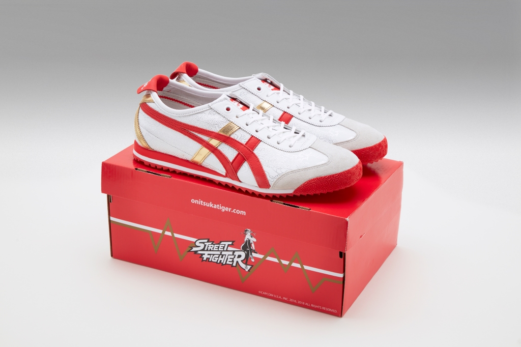 Onitsuka Tiger Mexico 66 sneaker for Street Fighter V: Arcade Edition