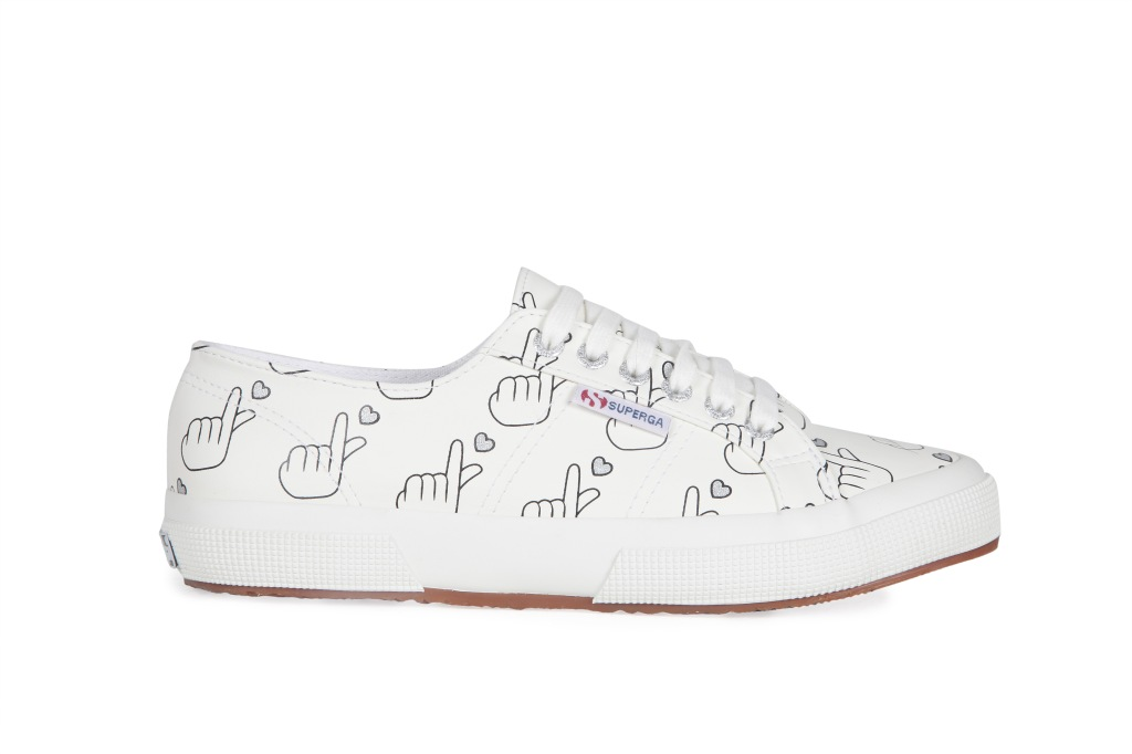 """A style from the """"Superga x Yoox"""" capsule collection."""