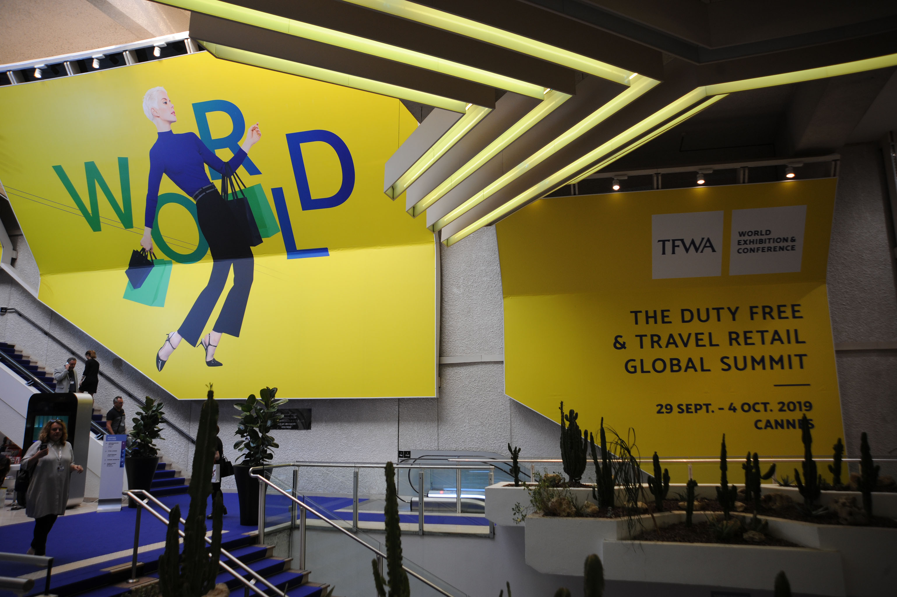 At the TFWA trade show in Cannes, France.