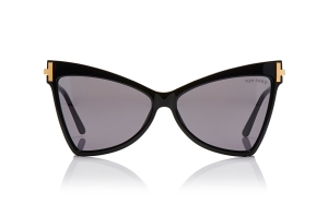 Butterfly-shaped acetate frames by Tom Ford.