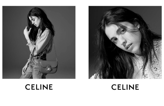 Margaret Qualley in the Celine Essentiels campaign