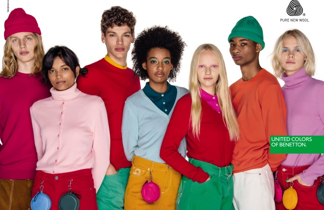 United Colors of Benetton fall 2019 ad campaign.