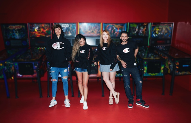 Looks from the Champion HyperX capsule.