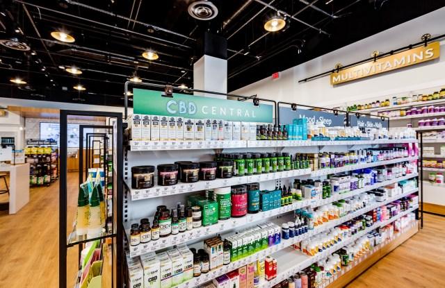 The Vitamin ShoppeÕs ÒCBD CentralÓ presentation is a best-selling area.