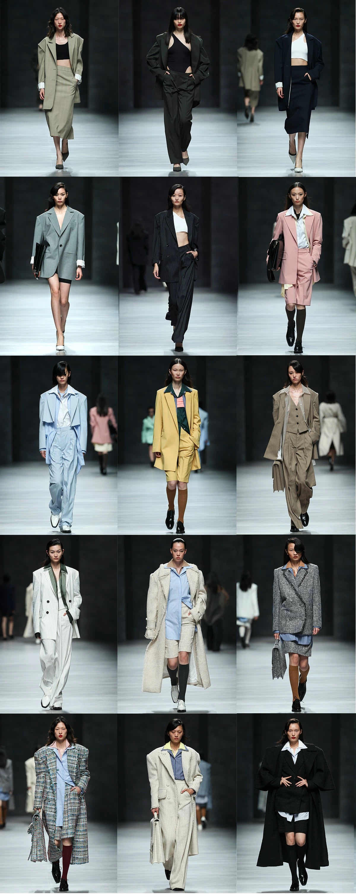 Looks from Lily's Shanghai Fashion Week Opening show