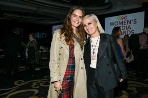 Racquele Regini and Maria Grazia Chiuri