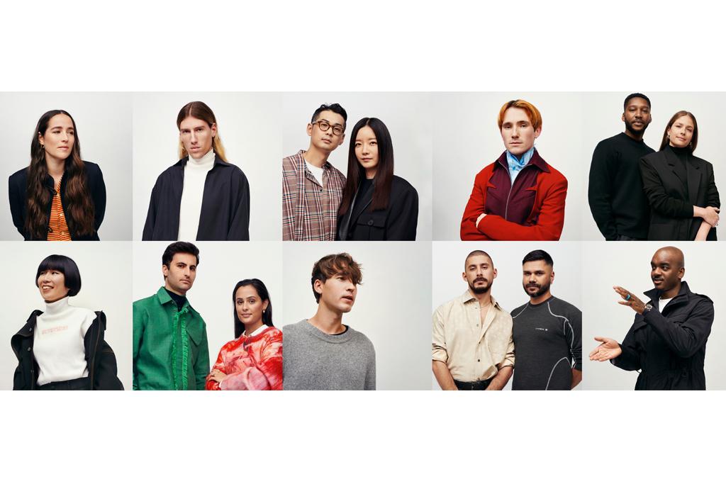 Top ten finalists of the 2020 International Woolmark Prize