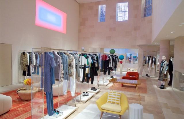 Inside of Louis Vuitton's New Bond Street flagship store