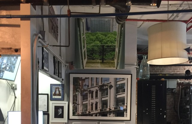 A glimpse of the Vault Museum in the basement of the Bryant Park Studios.