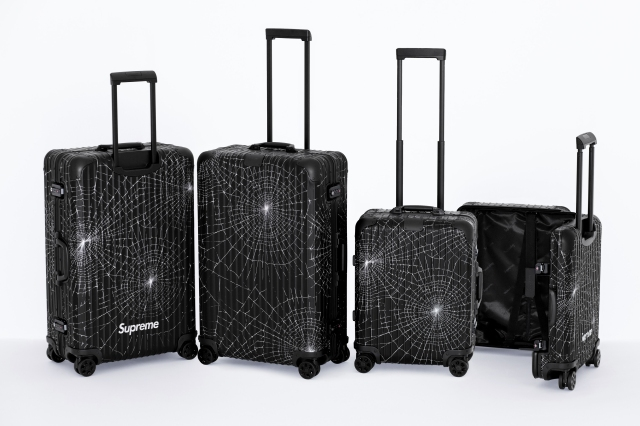 Supreme and Rimowa's new collaboration.