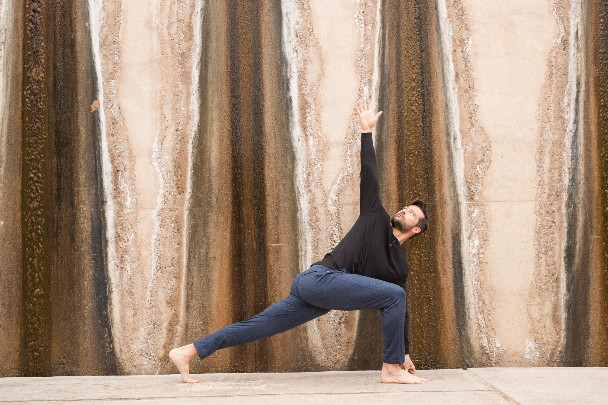 Yoga was the starting point for the Vuori brand.