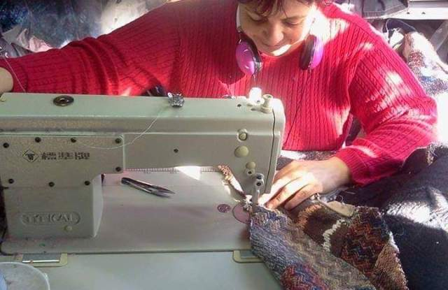 Argentina's textile industry has lost jobs.