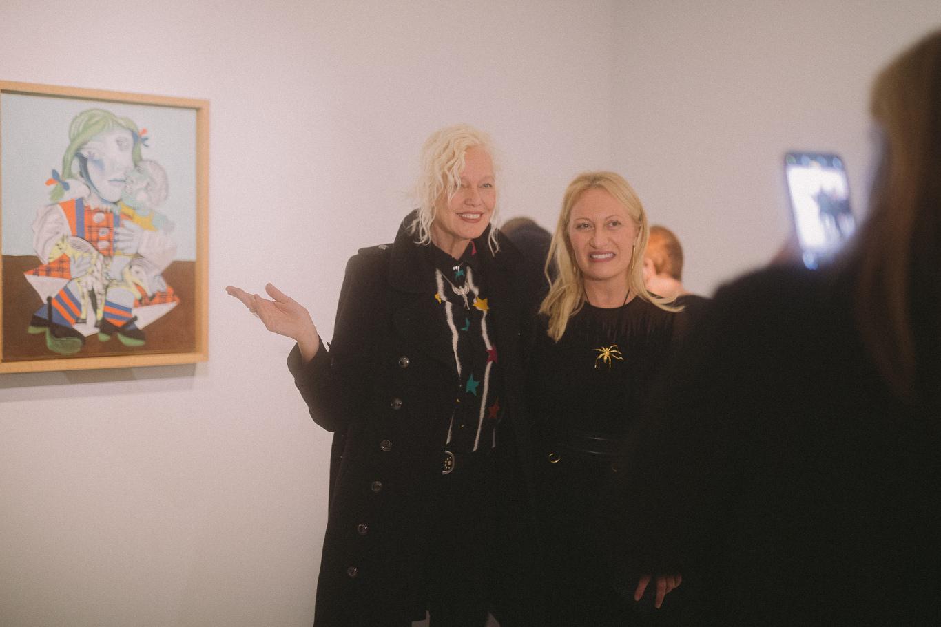 Diana Widmaier-Picasso and Ellen von Unwerth