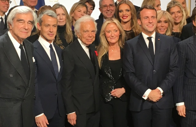 Ralph Lauren Macron Paris