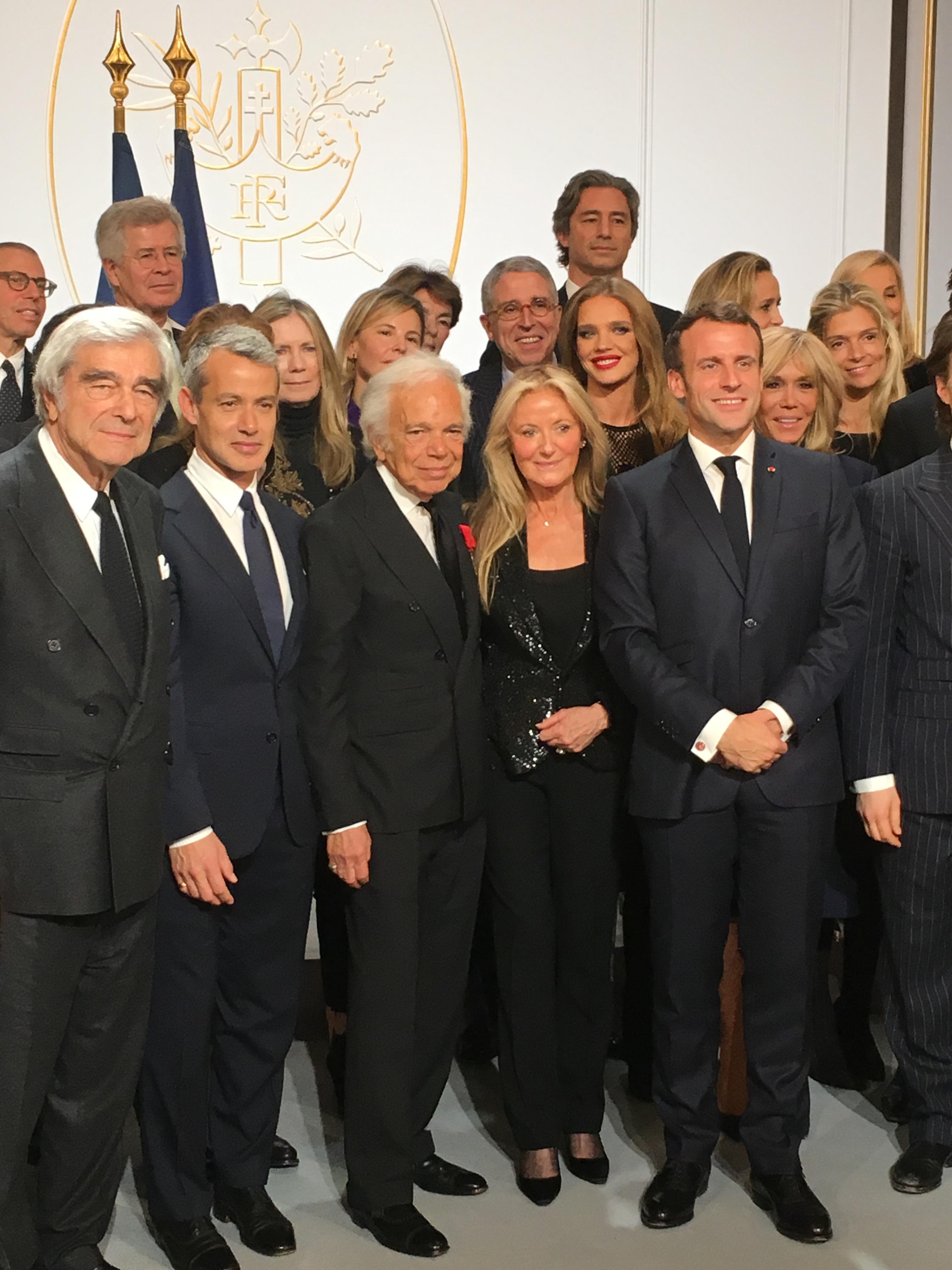 Ralph Lauren Macron Paris