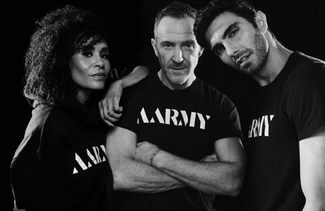 Angela Davis, Trey Laird and Akin Akman.