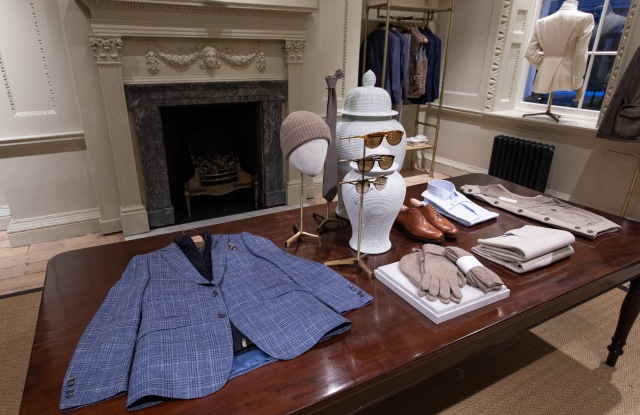 Hackett Store on Savile Row